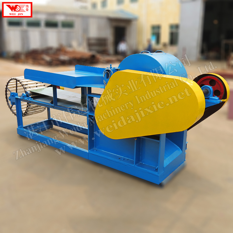 Kenaf fiber separator automatic fiber decorticator supplied by Zhanjiang Weijin brand factory  extract clean fiber low intensity  extract clean fiber low intensity