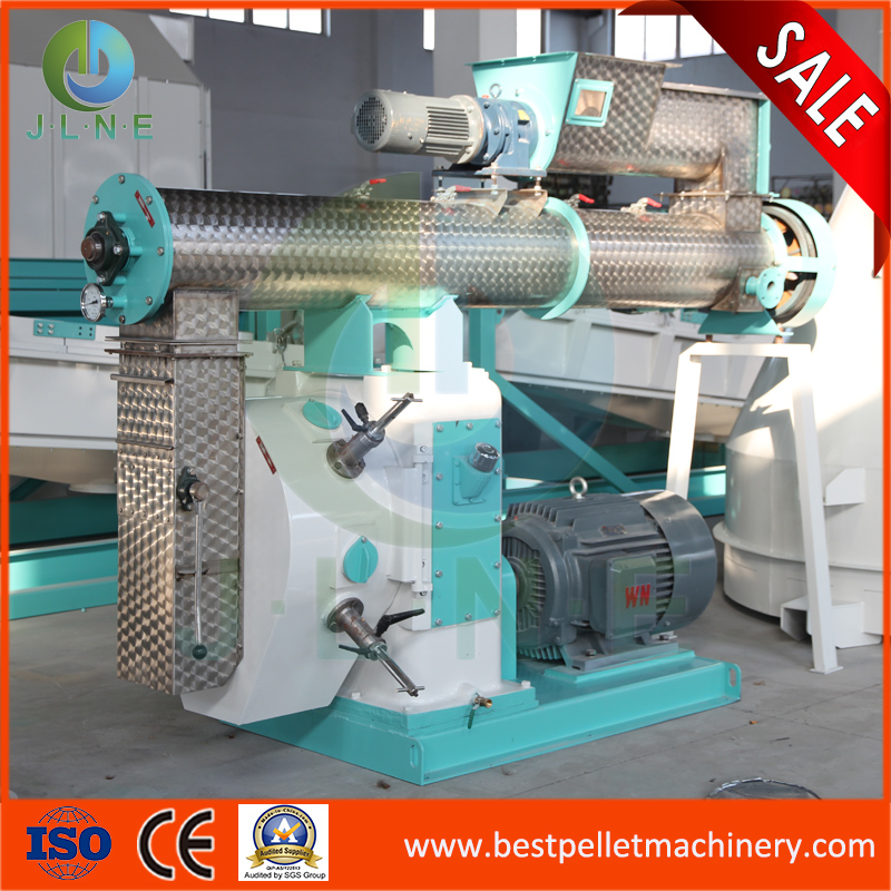 SZLH350 CE approved chicken animal feed pellet machine