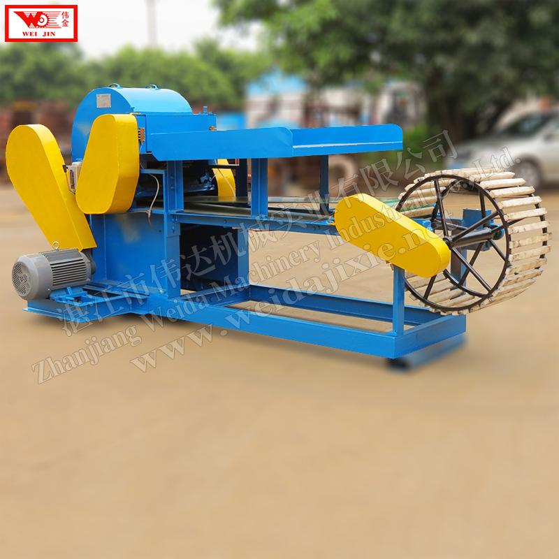 Kenaf peeling machine  Zhanjiang weida fiber machinery  high production capacity,simple to operate,save power