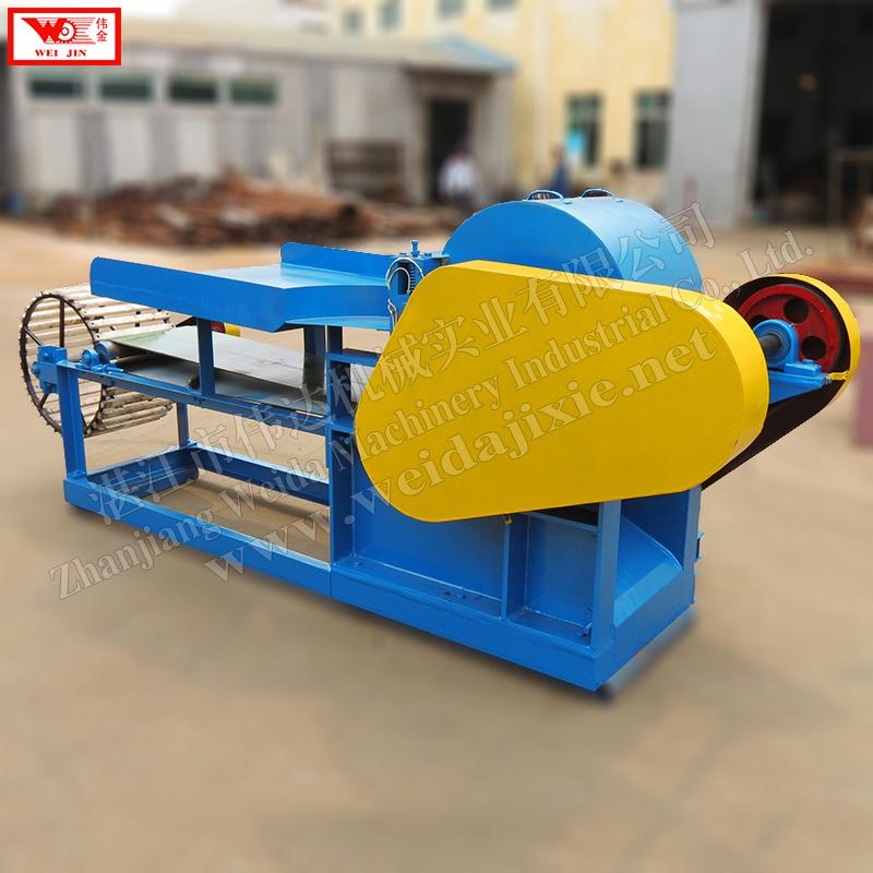 Sisal fiber shelling machineautomatic fiber decorticator supplied by Zhanjiang Weijin brand factory  extract clean fiber low intensity  extract clean fiber low intensity
