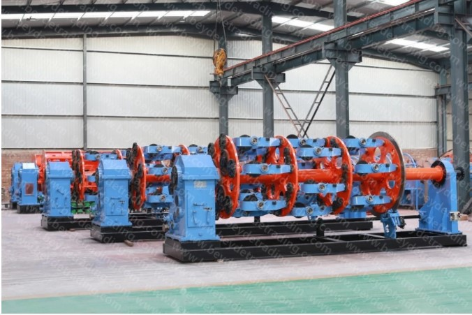 1+6+12+18+24 bobbin cable Stranding Machine. cablling machine