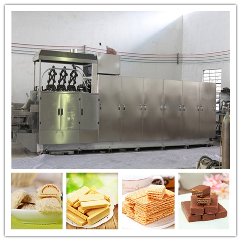 SAIHENG wafer biscuit making machine wafer biscuit production line wafer