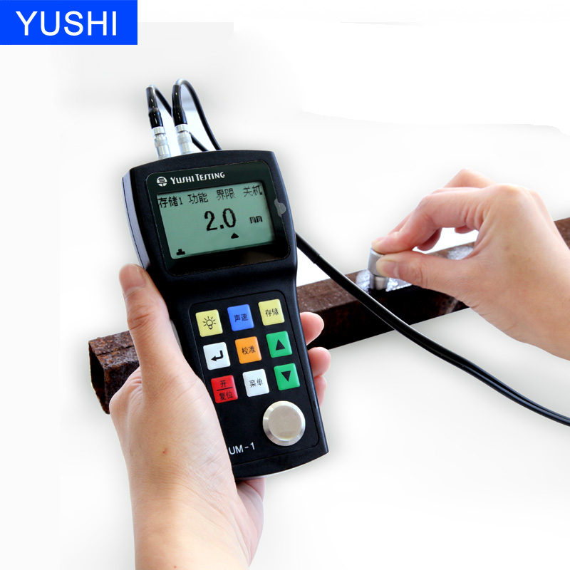 YUSHI UM-1D Digital Thru Paint/Coating Ultrasonic Thickness Gauge
