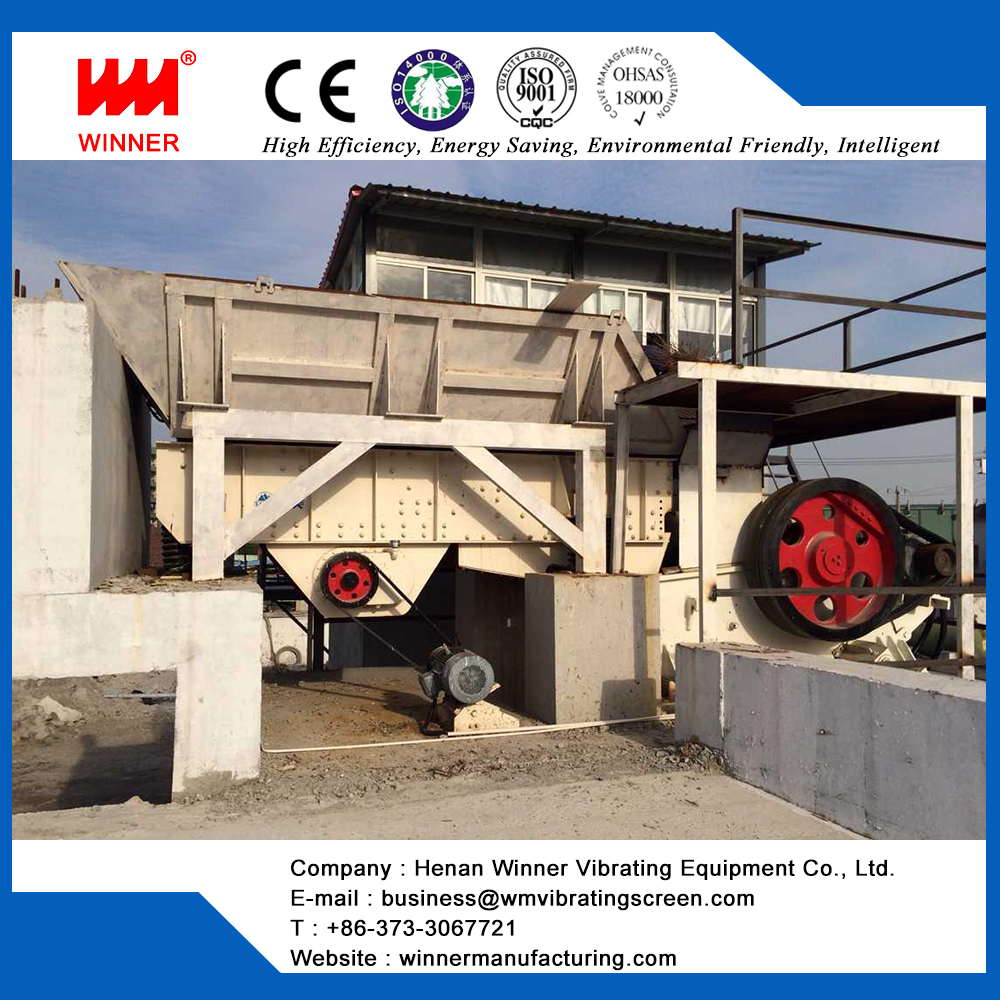 Construction waste sorting plant, waste management