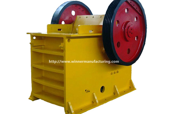 Stone PE jaw crushing machine, crusher equipment