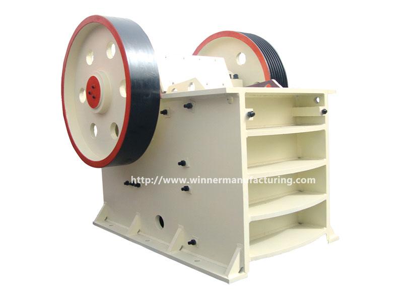 Stone PE jaw crushing machine, crusher equipment