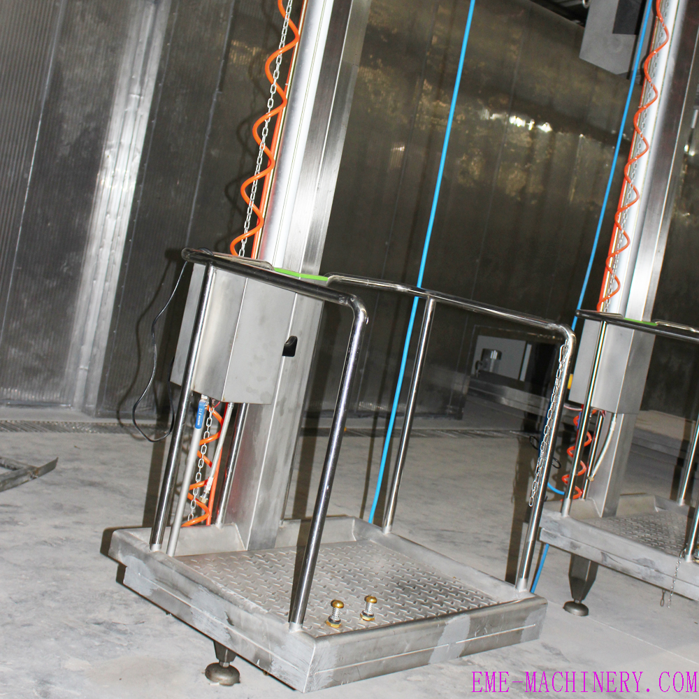 Single Pillar Pneumatic Elevator