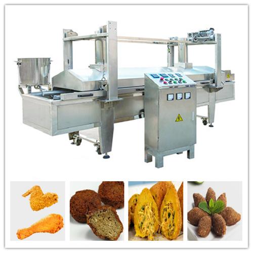 Chicken Nuggets Frying Machine/Chicken Fryer/Fried Food Machine