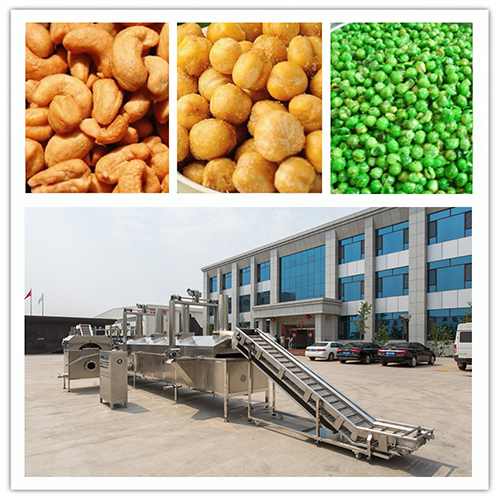Nuts Frying Machine/Nuts Fryer/Fried Food Machine