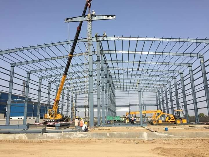 Prefab Steel Warehouses Shed Design Pre engineered Steel Buildings