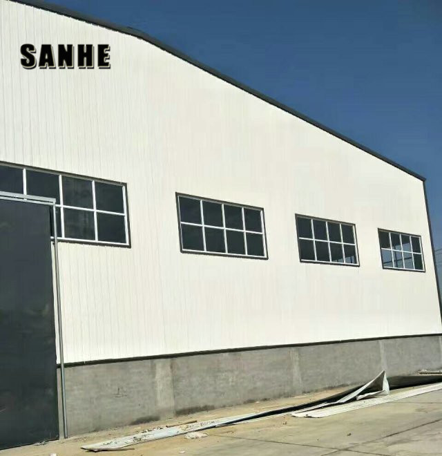 steel construction pre-engineered warehouse building material