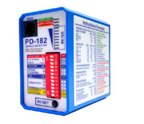 PD-182 Double Channel  Loop Detector