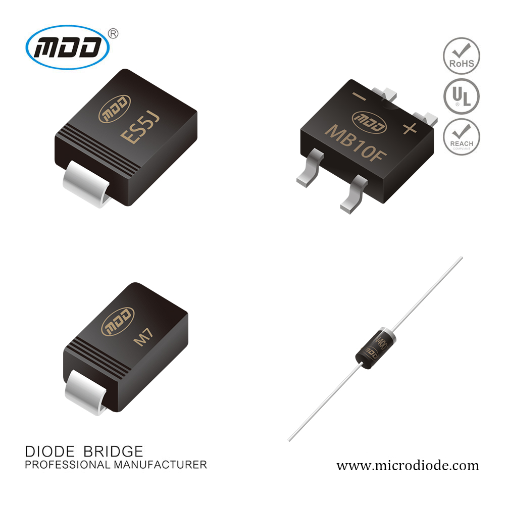 ①SMD 1A 1000V General Purpose Rectifier Standard Diode M7 S1M 1N4007 GS1M