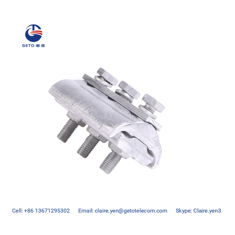 APG aluminum parallel groove clamp