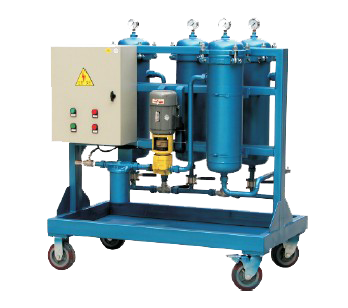 hydraluc oil purifier machine with vacuum dehydration system used on engine car