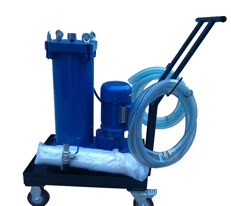 Hand Push Mobile Turbine Oil Filtration Machine