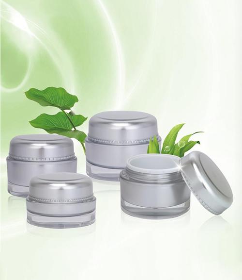 luxury cosmetic jar