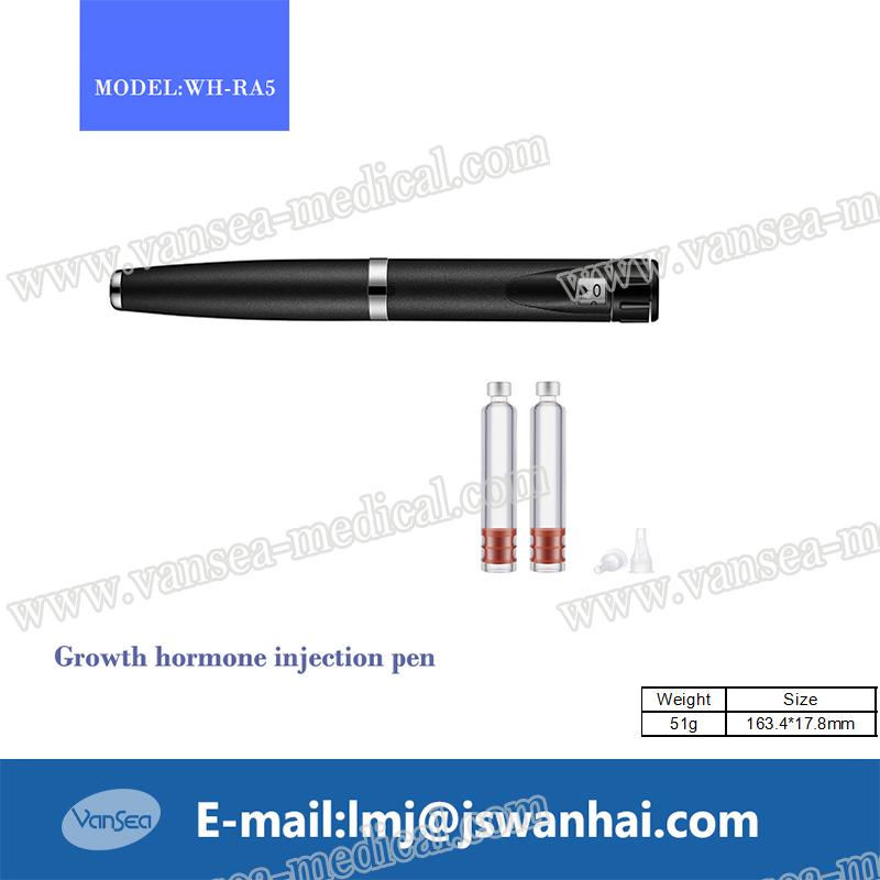 Reusable insulin pen for India pharma factory