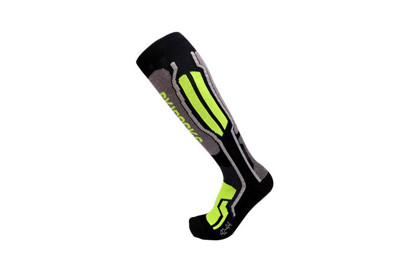 Cotton compression ski socks
