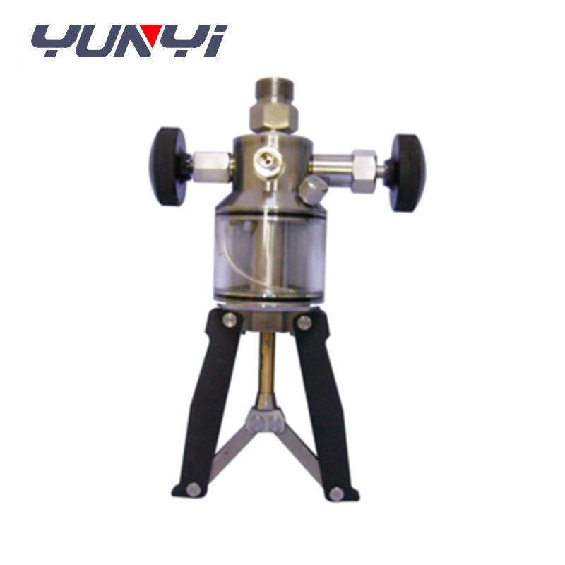 pressure testing hand pump
