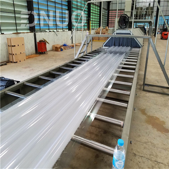 GRP Fiber glass composite roof sheet making machine