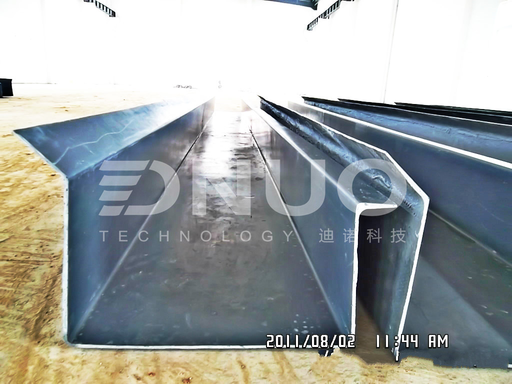 FRP Fiberglass gutter; canal making machine