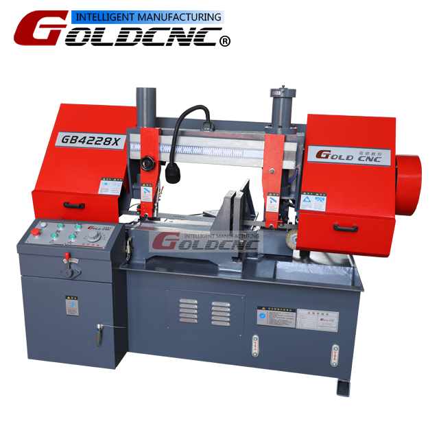 GB4228X sawing machine,metal banding saw machine,band saw iron cut machine