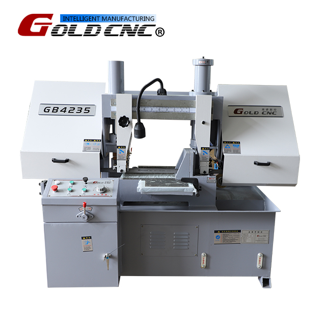 GB4235 Horizontal double column sawing machine