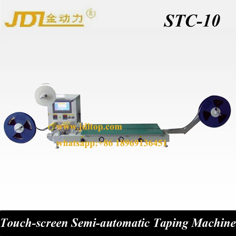 Semi Automatic Electronics Packaging Machine Manual Tape and Reel Taping Machine
