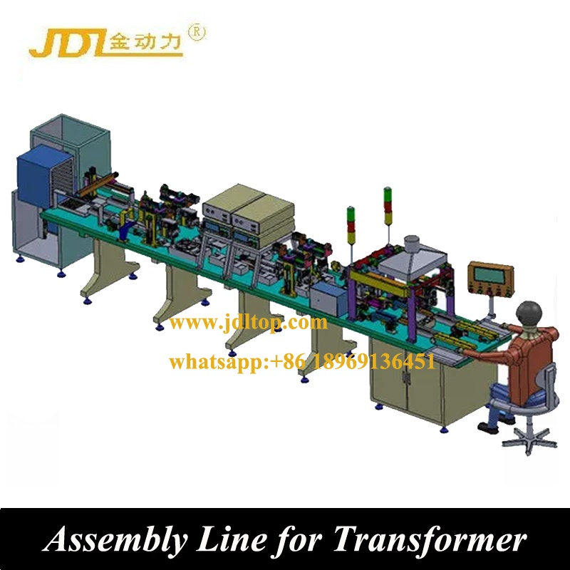 Inductor Testing and Packaging Machine from Chinese Manufacturer Automatic Inductor Prodcution Line