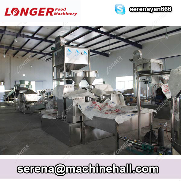 Fully Automatic Peanut Butter Making Machine Production Line LONGER Brand