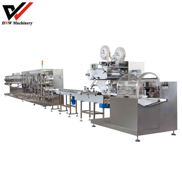 Full Automatic Multiple Package Wet Wipe Machine
