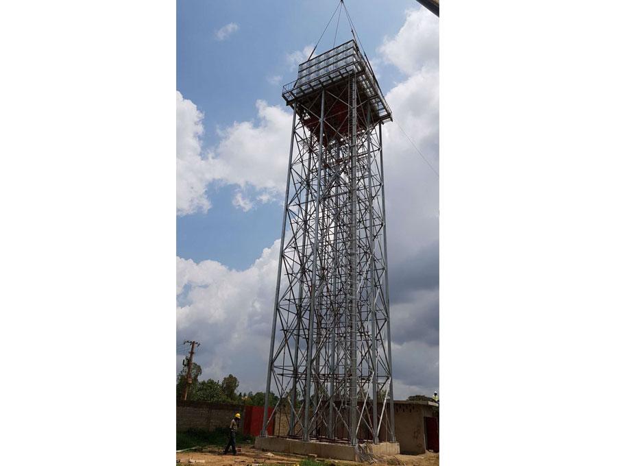 Steel Water Tank   hot dip galvanized water tank steel tower  custom Tower Tank company