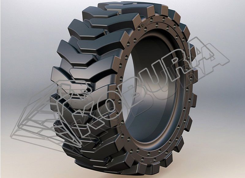 Skid Loader Solid Tires-801H kobura