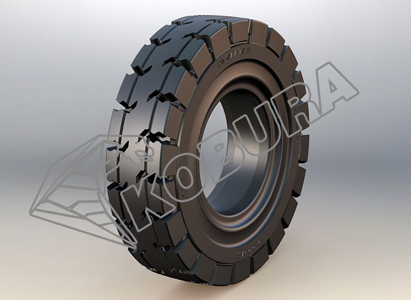 Forklift Solid Tire kobura